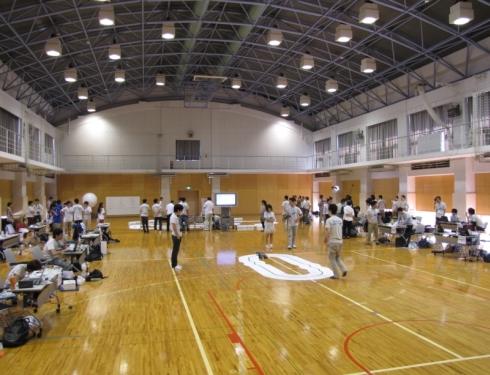 第1回「フリースケール・カップ日本大会」予選の様子