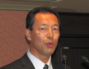 CHAdeMO協議会の丸田理氏