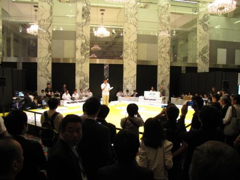 第1回「フリースケール・カップ日本大会」決勝の様子
