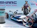 富士重工業が「2025年のハイウェイパトロールカー」のデザインチャレンジで優勝した「SHARC」