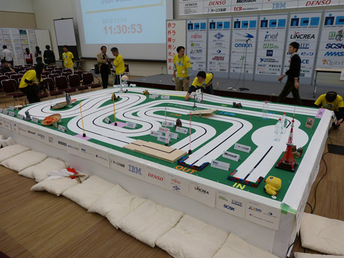 ETロボコン2012の競技フィールド