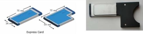 図4 PCI Expressの Express Card