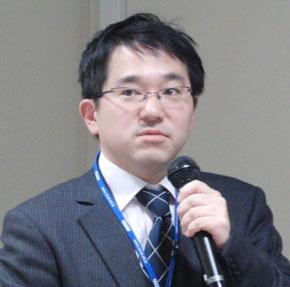 国立情報学研究所(NII)の越前功准教授