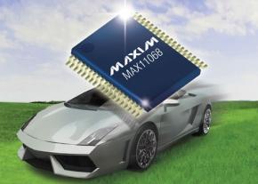 車載電池システム向けバッテリーモニターICの第1世代品「MAX11068」