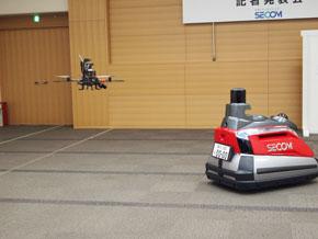 小型飛行監視ロボット2