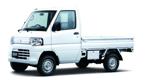 三菱自動車の軽トラEV「MINICAB-MiEV TRUCK」三菱自動車の軽トラEV「MINICAB-MiEV TRUCK」(クリックで拡大) 出典:三菱自動車