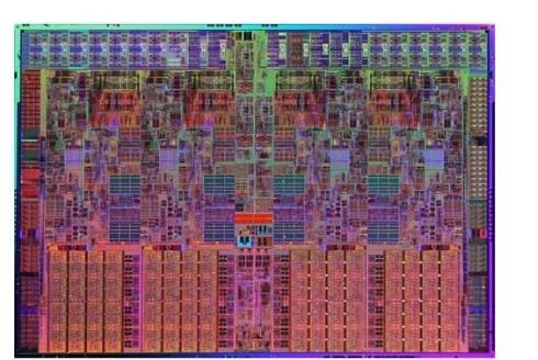 図1 最新MPUはマルチコア(Intel Quad Core i7)