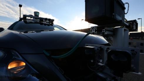 HDカメラとミリ波レーダー