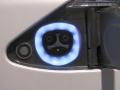 「モデルS」の充電コネクタ