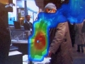 「空間磁界可視化システム」のデモ