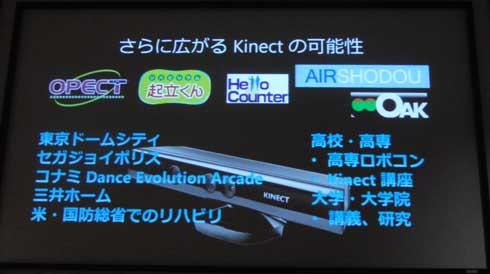さらに広がるKinectの可能性
