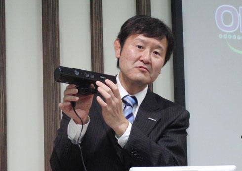 マイクロソフト ディベロップメント 社長 兼 日本マイクロソフト 最高技術責任者である加治佐俊一氏