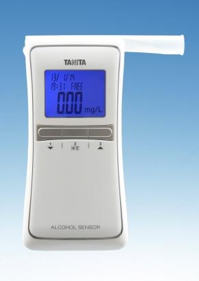 タニタのアルコールセンサー「アルブロ(FC-1000)」