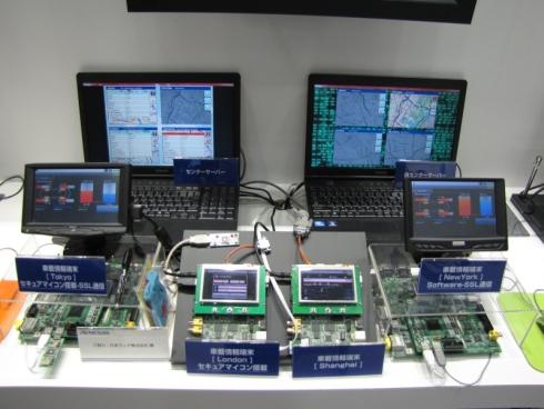 ルネサスの車載情報機器向けセキュリティソリューション