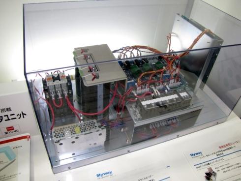 MywayプラスのSiCインバータユニット「MWNINV-1044-SIC」