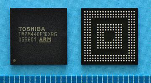 ARM Cortex-M4を採用した汎用マイコン「TMPM440F10XBG」
