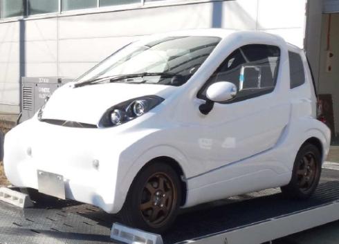 NTNが実証実験を計画中の2人乗り小型EV