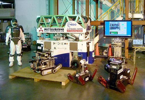 公開されたロボット技術
