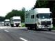 大型トラックが時速80km/車間距離4mで自動隊列走行、燃費向上効果は15%以上