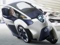 トヨタ自動車の超小型EVのコンセプトカー「TOYOTA i-ROAD」