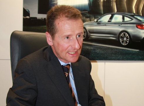 BMWのヘルベルト・ディース氏
