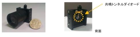 リレ—レンズを装着した共鳴トンネルダイオードモジュール