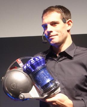 英Dysonのシニアデザインエンジニア Matt Steel氏