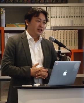 ユビキタスエンターテインメント(UEI) 代表取締役社長兼CEOの清水亮氏