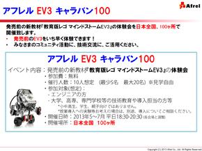 アフレル EV3 キャラバン100