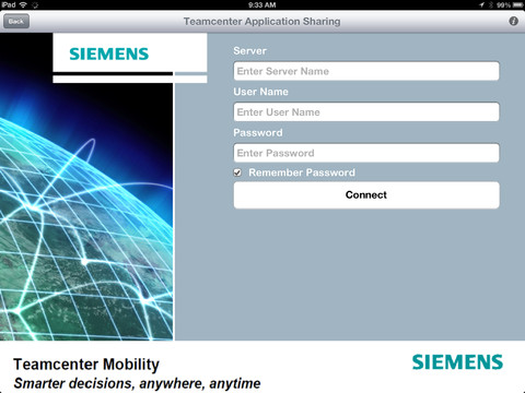 App Storeに掲載されているTeamcenter AppShareのスクリーンショット
