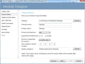 Module Designer(1)