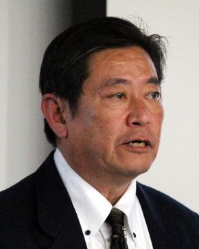 講演するAmerican Supplier Instituteの田口伸氏