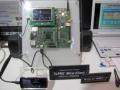 評価ボードを使った「Ze-PRO Mirror(Client)」のデモ