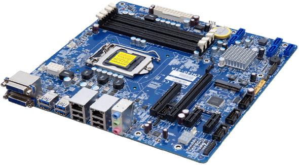 組み込み用途向けマザーボード「TEM140」 組み込み用途向けマザーボード「TEM140」の外観