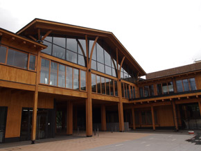 明治大学黒川農場の本館