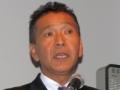 三菱自動車でパイクスピークに挑戦するチームの監督兼ドライバーを務める増岡浩氏
