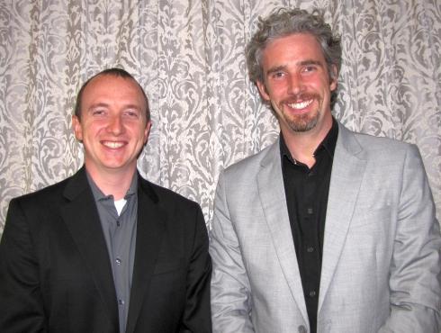 NIのIan Fountain氏(右)とNoah Reding氏