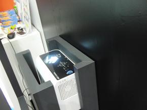 リコーの超短焦点DLPプロジェクター「IPSiO PJ WX4130N」