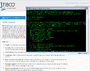 TIBCO Enterprise Runtime for R with Background