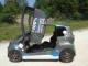 インホイールモーター搭載超小型EVはシザーウイング、アニメ映画祭でデビュー