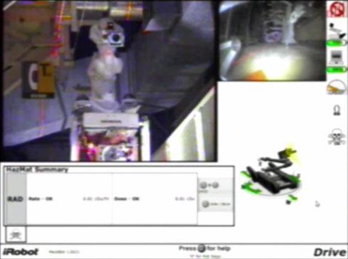 「PackBot」からの映像