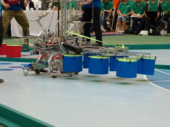 これは北見工業大学の手動ロボ