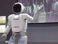 ホンダ「ASIMO」による自律型説明ロボット