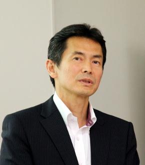 シャープCS推進本部海外CS企画推進部副参事の中山善生氏