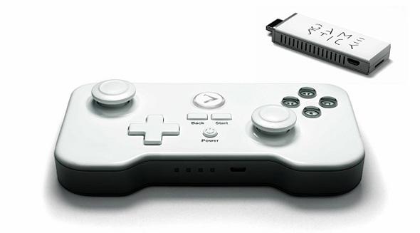 スティックタイプの家庭用ゲーム機「GameStick」