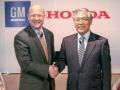 ホンダとGMが燃料電池車の共同開発を正式発表