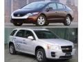ホンダの「FCXクラリティ」とGMの「Chevrolet Equinox Fuel Cell」