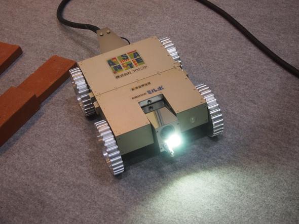 アサンテのシロアリ防除ロボット「ミルボIV(お助けロボ ミルボIV)」