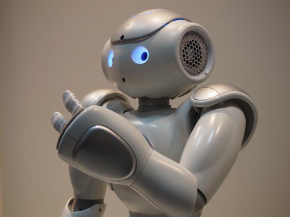自律型ヒューマノイドロボット「NAO」