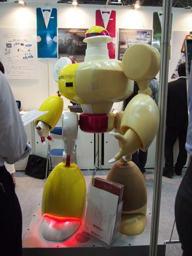 等身大ロボット